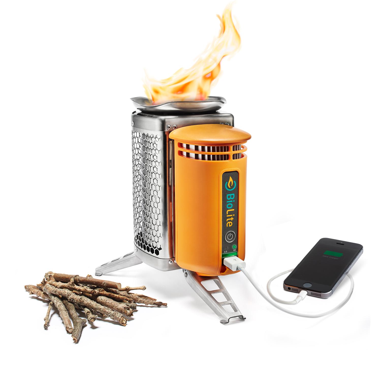 BioLite CampStove charging
